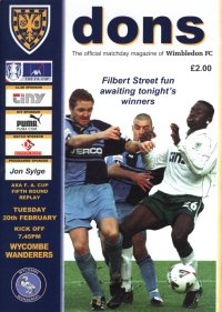 Selhurst Park - 20 February 2001 - a night to remember