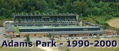 Adams Park - August 2000 - ten happy years - pic Chairboys on the Net