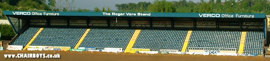 The Hillbottom Road End - Away End at Adams Park