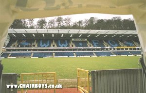Woodlands Stand from players tunnel