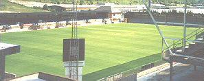 The Old Main Stand at Adams Park - A view from the Woodlands