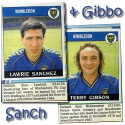 Sanch and Gibbo - thanks to Azzurro for sending the pics