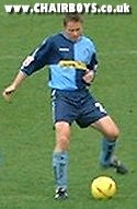 Steve Guppy - back again in a Wycombe shirt