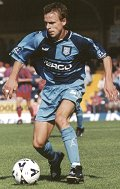 Martin Lee - brilliant free-kick - Picture Paul Dennis