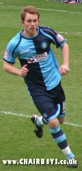 Stuart Lewis - gave Wycombe and early lead at Mansfield