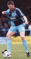 Paul McCarthy - scored Wycombe's goal - picture Paul Dennis