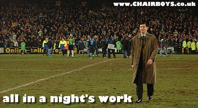 All in a night's work - picture Paul Lewis